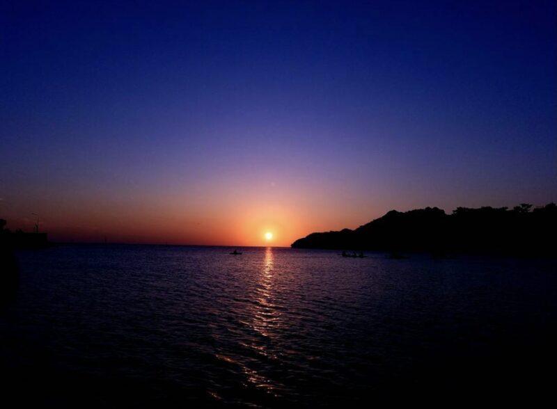 【沖縄本島・中部】比謝川の幸運パワースポットへ!サンセットカヤックツアー(No.138)