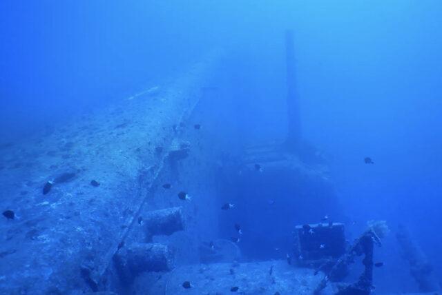 USSエモンズ沈船ダイビング
