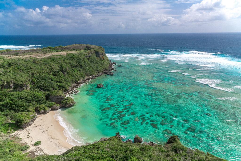 恩納村の美しい海