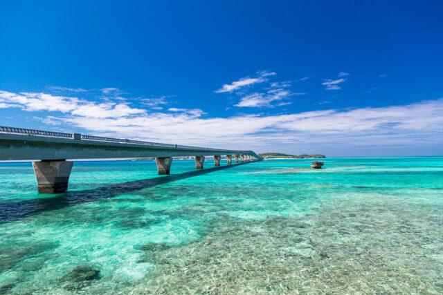 宮古島 美しい橋の景観