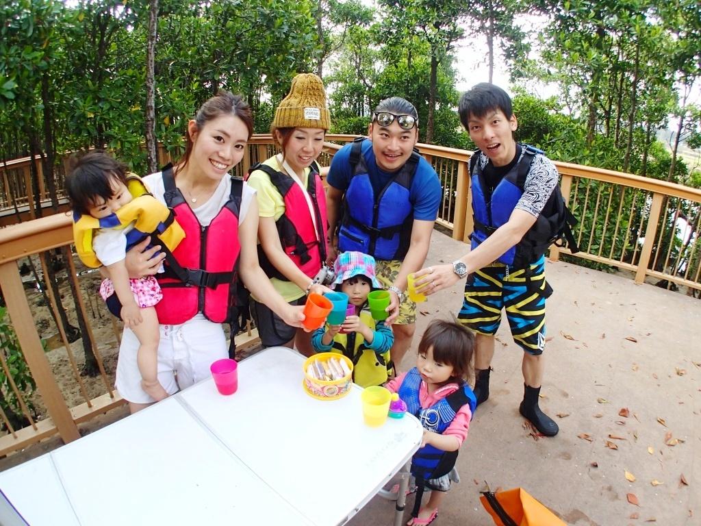 【恩納村】1歳から参加可能!熱帯ジャングルマングローブでカヤック探検(No.87)
