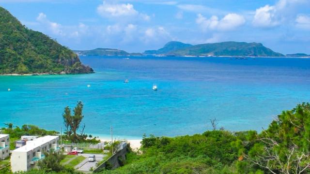 慶良間・渡嘉敷島、阿波連ビーチ